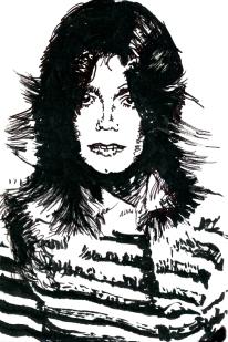 Farrah-Jackson---dibujo-tinta---10x15